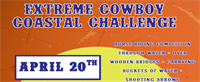 Extreme Cowboy Competition at Huntington Central Park Equestrian Center