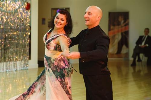 Oleg and Tatiana owners of Dance Al You Can social dance club