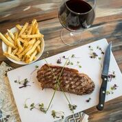 We proudly feature Akaushi Kobe Style Prime Cut Steaks.
