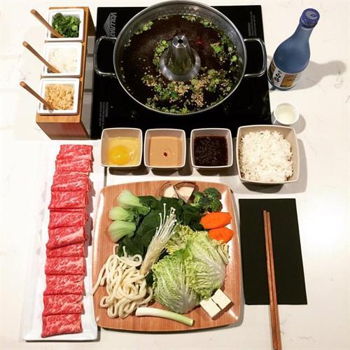 Shortrib + Sukiyaki