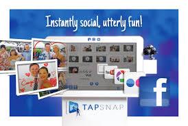 Interactive TapSnap kiosk