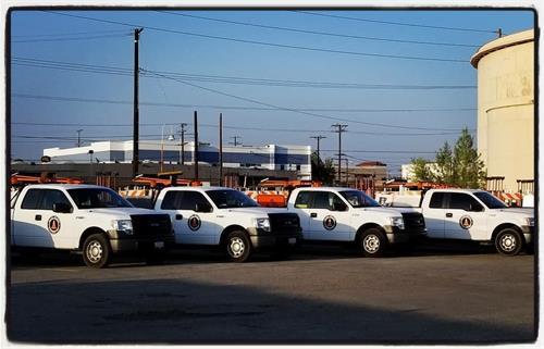 Alcoa Traffic Control Trucks-- Norwalk Yard