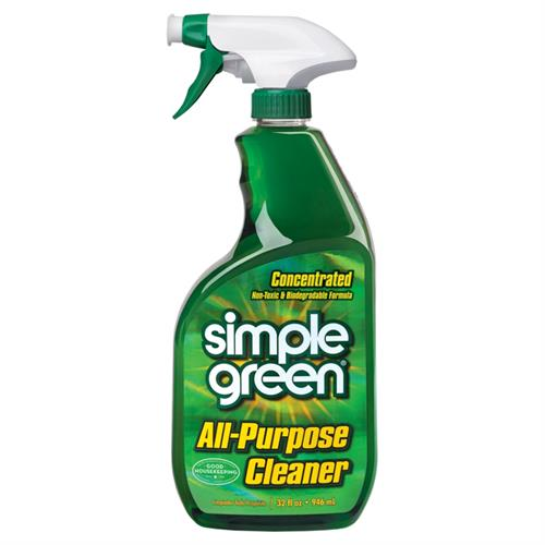 Simple Green All-Purpose Cleaner's non-toxic and biodegradable formula easily removes tough dirt and grime without harsh chemicals that can harm you and the environment.