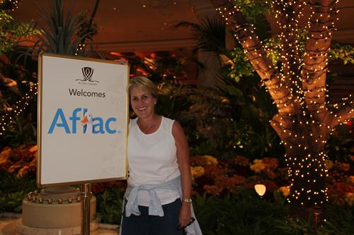 thank you AFLAC for honoring the sales team with wonderful trips