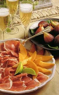 Let's celebrate: prosciutto e melone