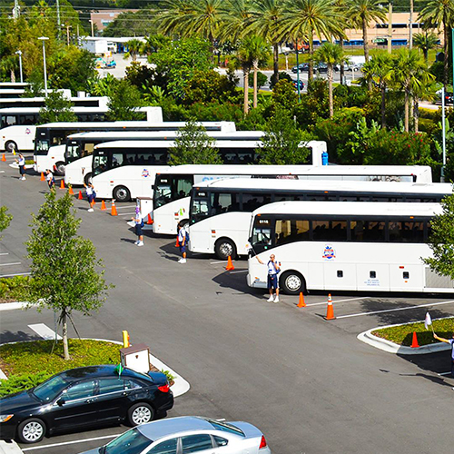 Largest fleet of 61 seat passenger buses in the State of Florida