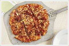 Whole Hog Thin Crust Pizza