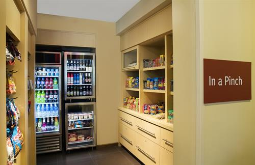 In a Pinch® 24/7 food/beverage pantry at TownePlace Suites