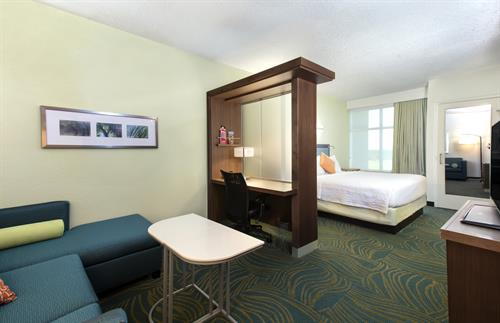 King suite at SpringHill Suites
