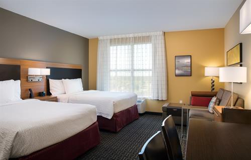 Queen/Queen suite at TownePlace Suites