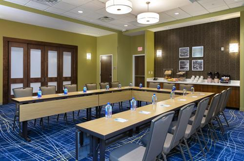 1,500 square feet of flexible meeting and event space at SpringHill Suites