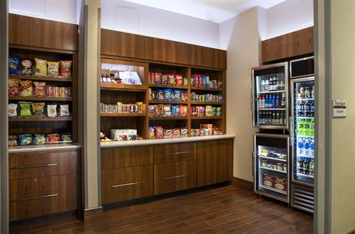 The Market (24/7 access to food and beverage) at SpringHill Suites