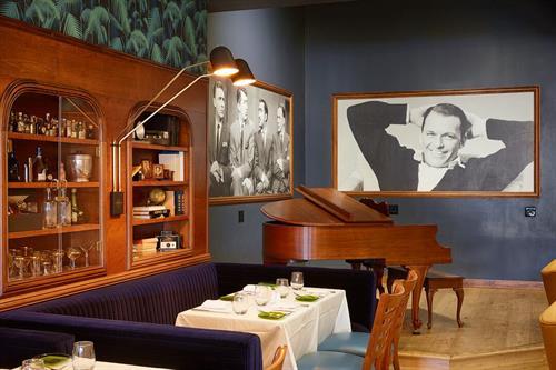 Dean Martin Lounge Stage