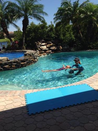 Swim lessons reduce risk of drowning by 88% (National Institutes of Health).