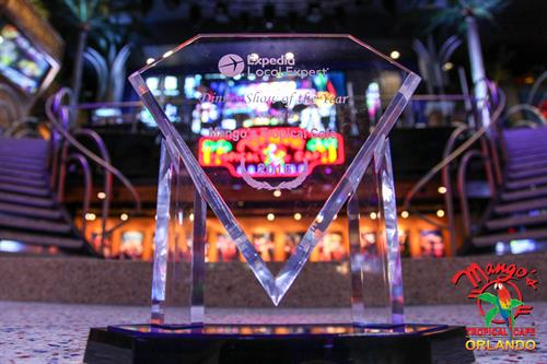 2016 Expedia Dinner & Show of the Year Award Winner