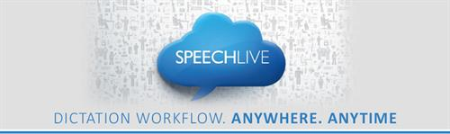 Speechlive.com where you can dictate your note from anywhere and turn it into text.