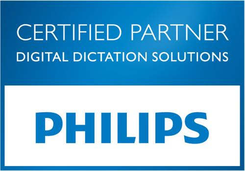 EBS is a reseller of Philips Dictation Solutions.