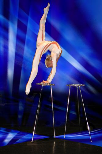 Contortionist, Hand Balancer, Ribbon Dancers
