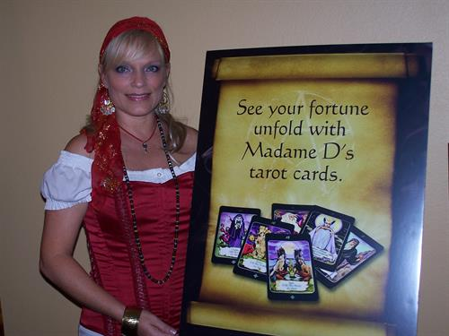 Fortune Tellers are a fun form of entertainment and popular with many guests