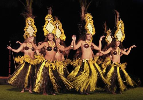 Luaus: Fire Dancers & Hula Girls are always a huge hit at a Polynesian theme party