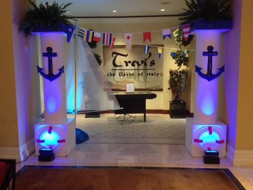 Theme Decor & Entertainament - Nautical, Cruise Ship Theme