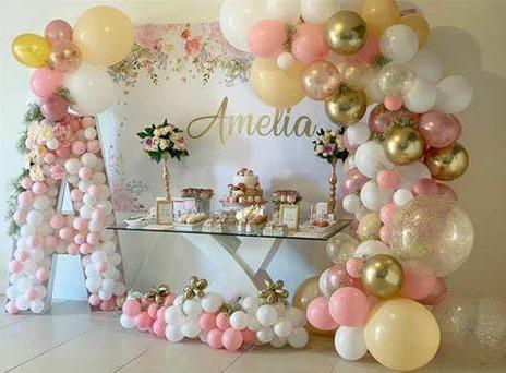 Balloon Decor: Arches, Columns, Themes