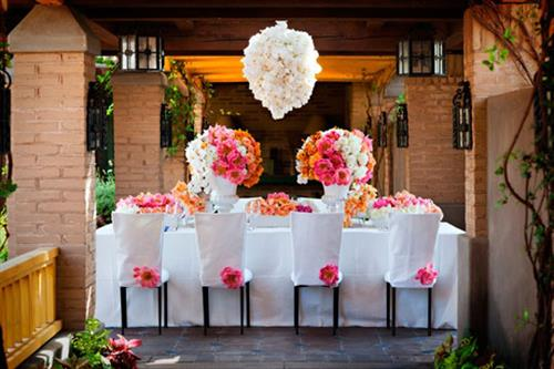 Decor, Centerpieces, Linens, Table Rentals, Planning & Design