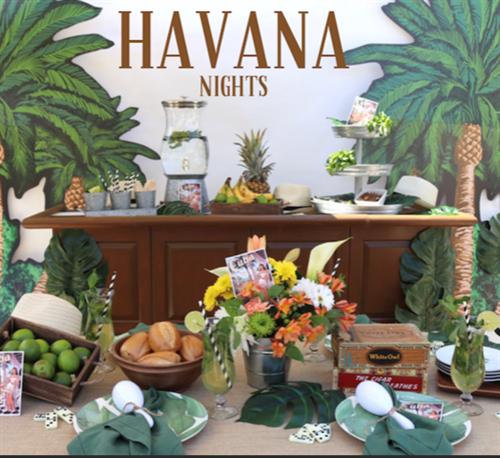 Hot Havana Theme Party, Cuba Theme Entertainment & Decor