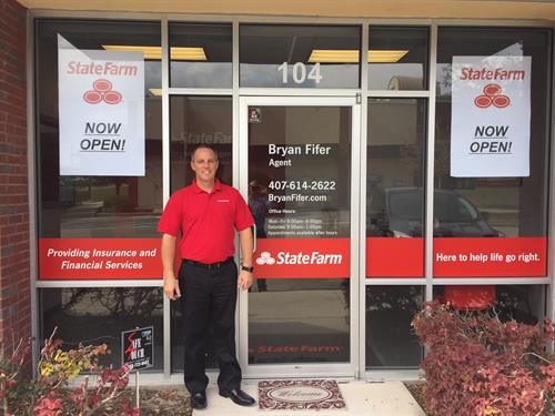 Welocme to Bryan Fifer, State Farm