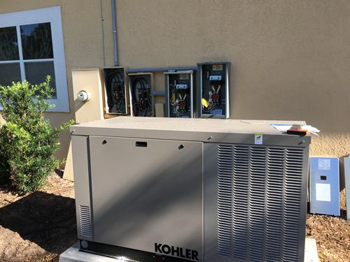 Kohler Standby Generator Installation - In Progress