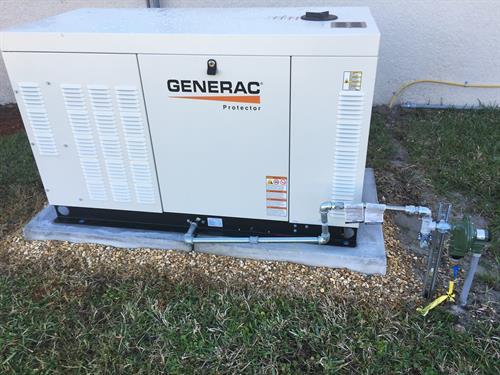 Generac Standby Generator Installation - Complete