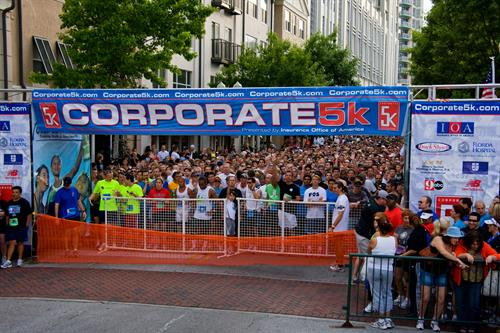 "For 5yrs ""Running"" we have supported the Corporate 5k."