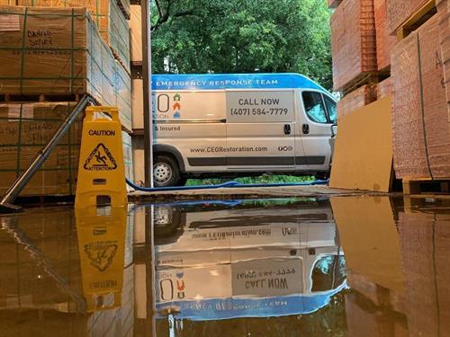 Flood restoration van Winter Garden