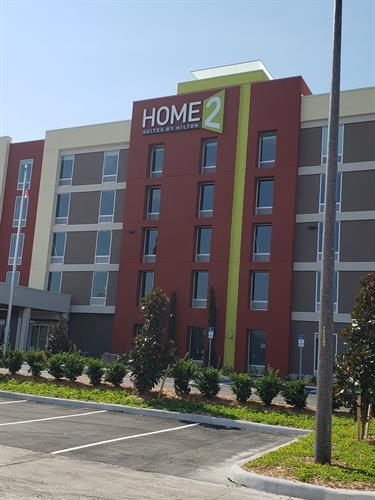 Hotel exterior- pre open