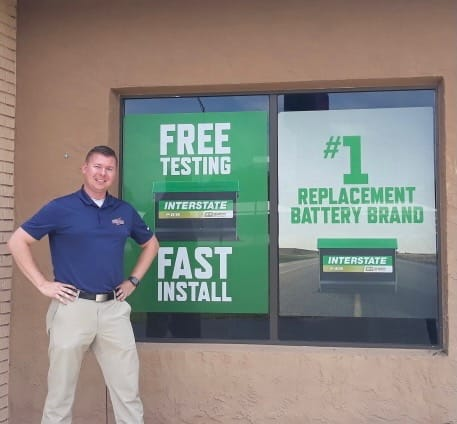 We Sell Interstate Batteries for Equipment!