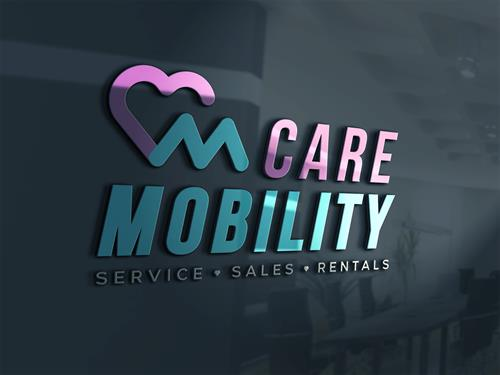 Care Mobility 3D Logo