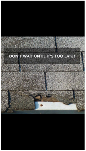 Without proper maintenance of your roof, it can be very expensive.