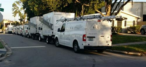 We have the crews and equipment to service your needs!