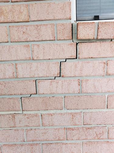 Foundation Repair BEFORE