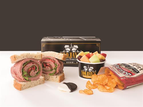 Boxed lunches make your life easy!
