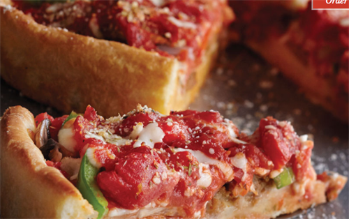 Home of the Deep Dish Pizza since 1943