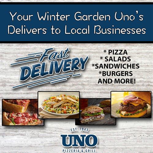Don't Forget! We Deliver!
