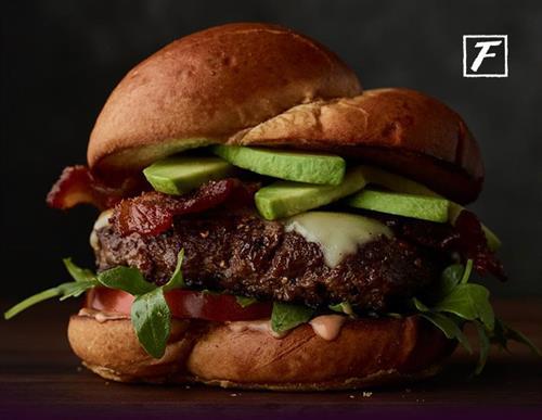 Fleming's California Burger