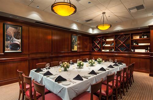 Fleming's Private Dining Room - Isleworth Room Maximum Capacity 36