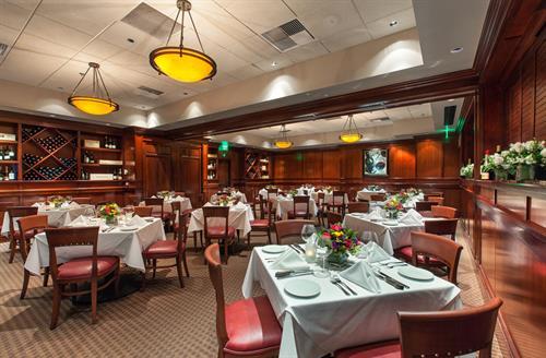 Fleming's Private Dining Room - Dellagio Room  Maximum Capacity 84