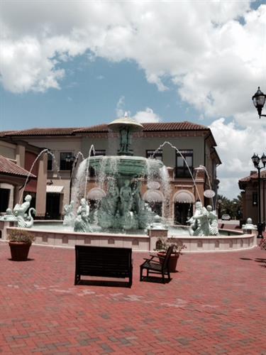 Dellagio Fountain View