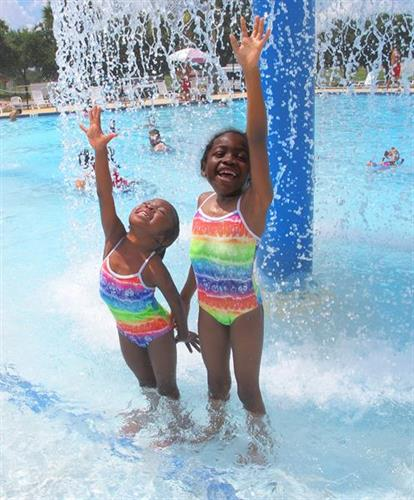 Summertime fun at Jim Beech Recreation Center