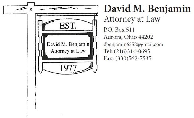 David M. Benjamin, Attorney at Law