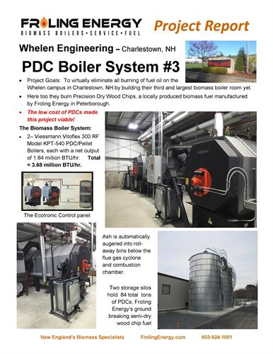 Whelen Engineering heats their campus with Froling Energy biomass boilers and PDCs