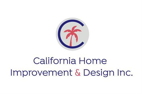 California Home Improvement logo design